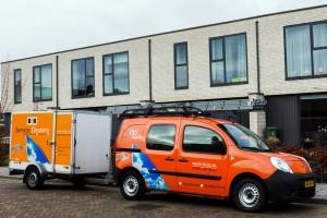 BK Service Cleaning de glazenwasser in Leeuwarden