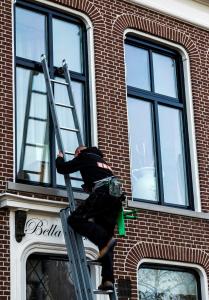 Glazenwasser Franeker met BK Service Cleaning